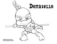 Donatello Coloring page