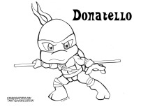 Donatello Coloring page