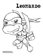 Leonardo Coloring page