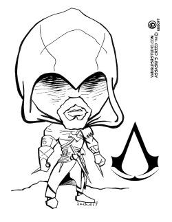 Ezio Coloring Page