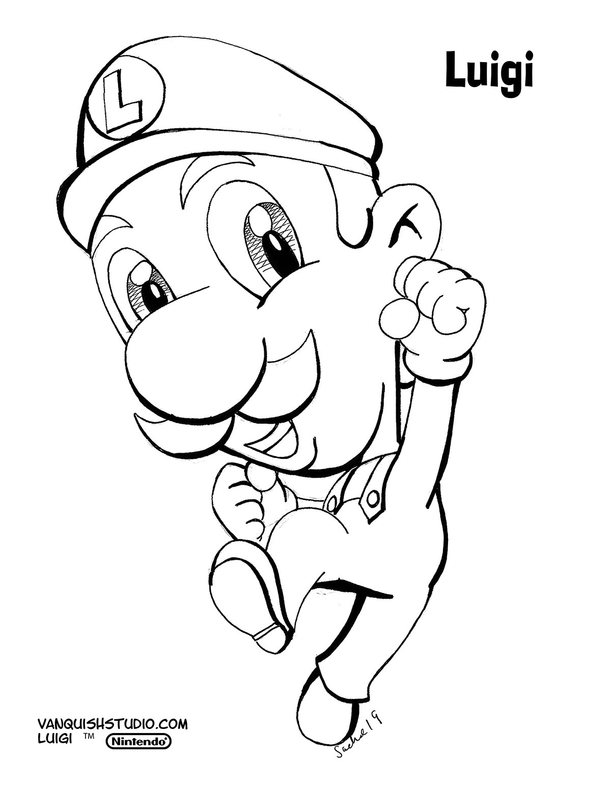 Am I My Brother S Keeper Super Mario Brothers Coloring Pages Vanquish Studio
