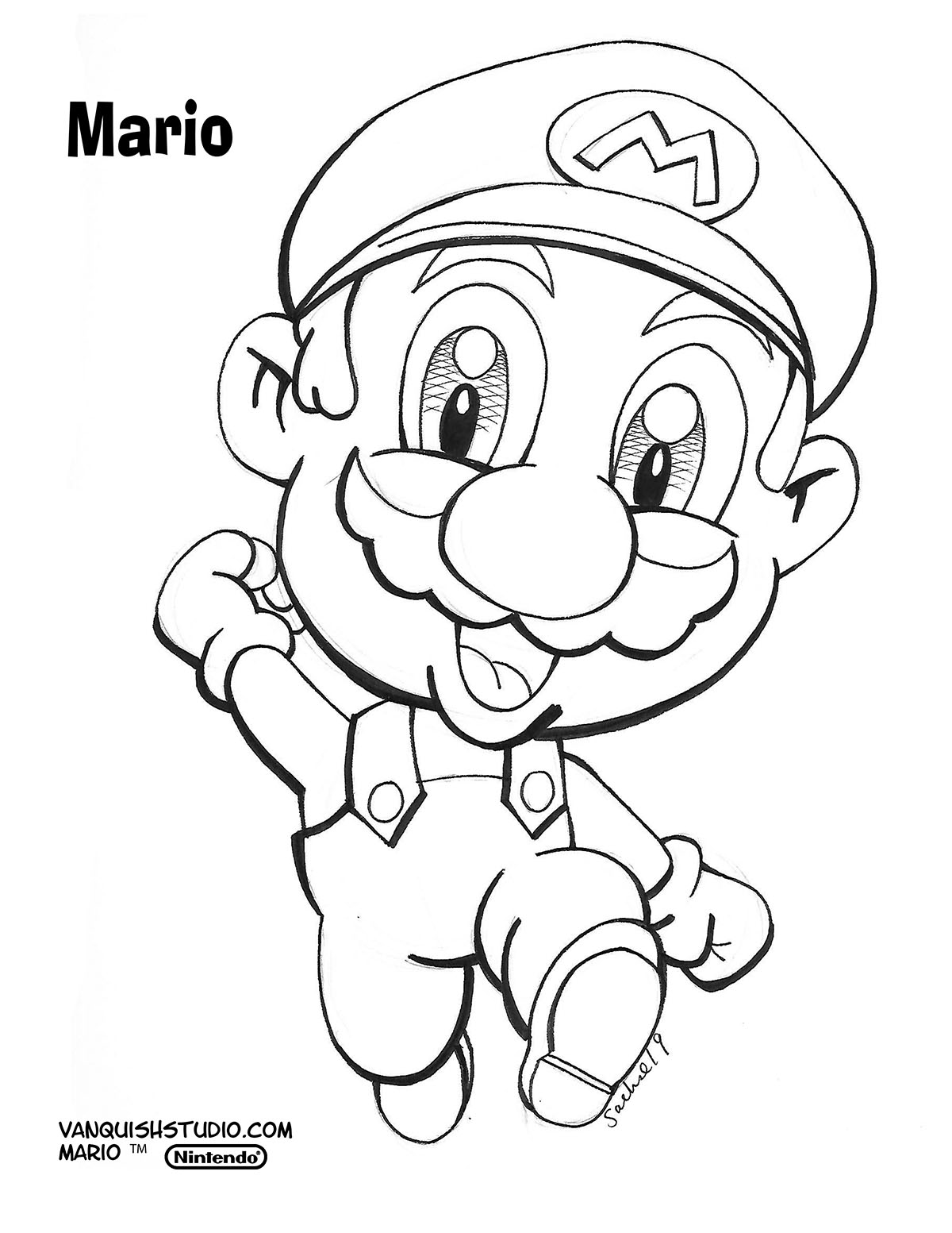 - Am I My Brother's Keeper? Super Mario Brothers Coloring Pages Vanquish  Studio