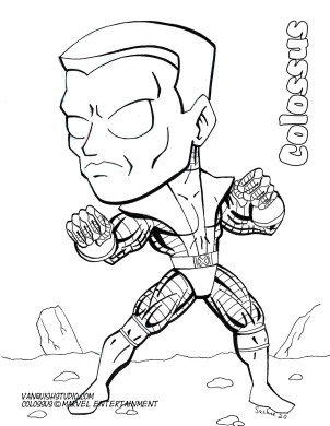 Colossus2 Coloring page
